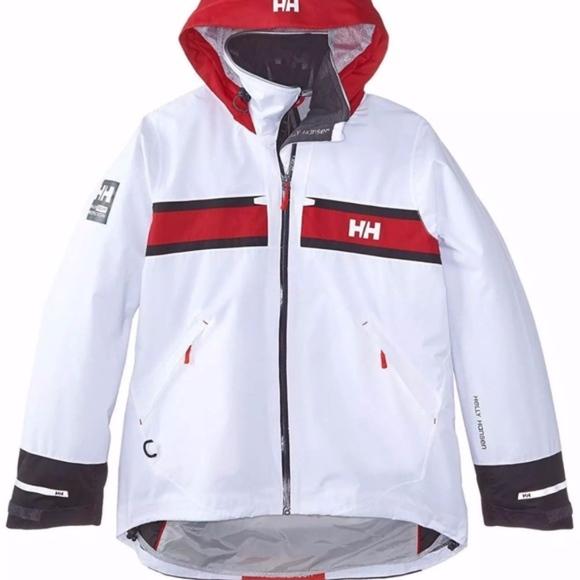 ostaa halvalla ostaa parhaat tarjoukset NEW NWT Helly Hansen Women's Salt Jacket Red White NWT